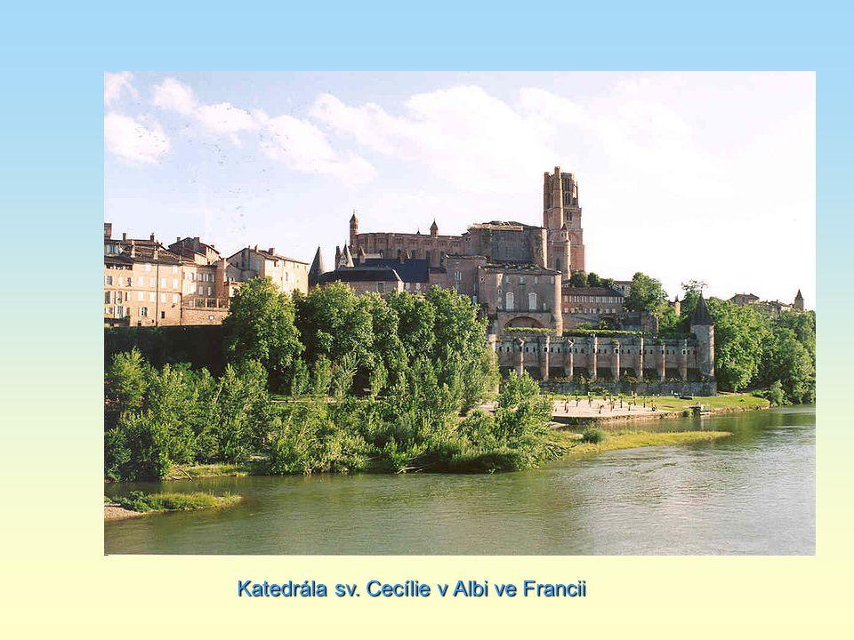 Katedrála sv. Cecílie v Albi ve Francii