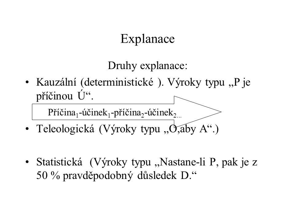 Příčina1-účinek1-příčina2-účinek2...