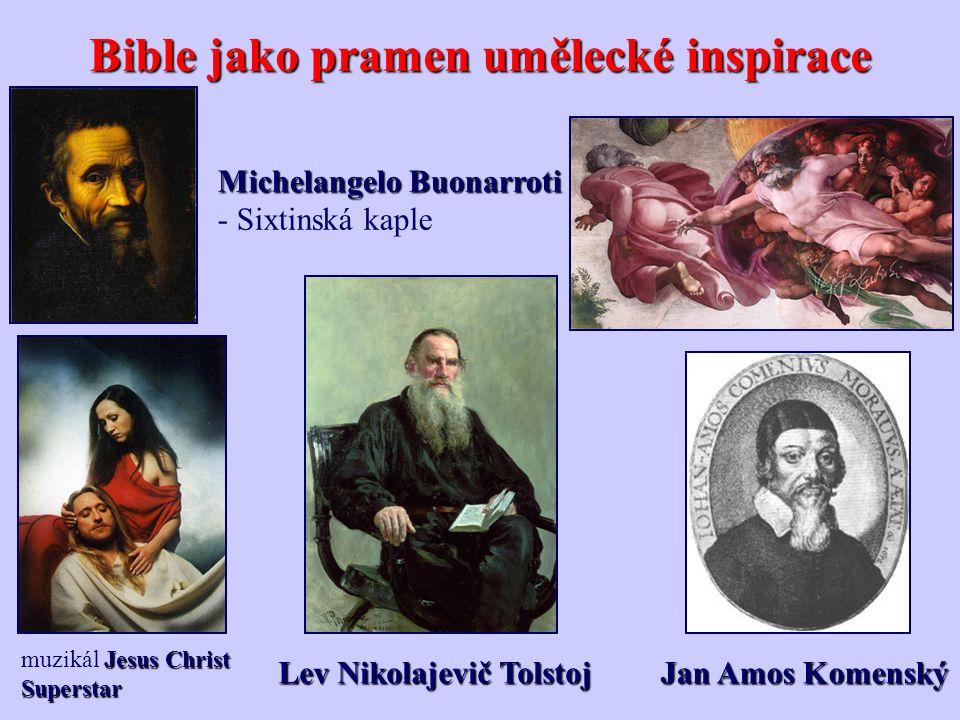 Bible jako pramen umělecké inspirace