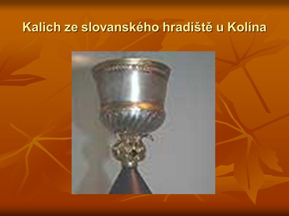Kalich ze slovanského hradiště u Kolína