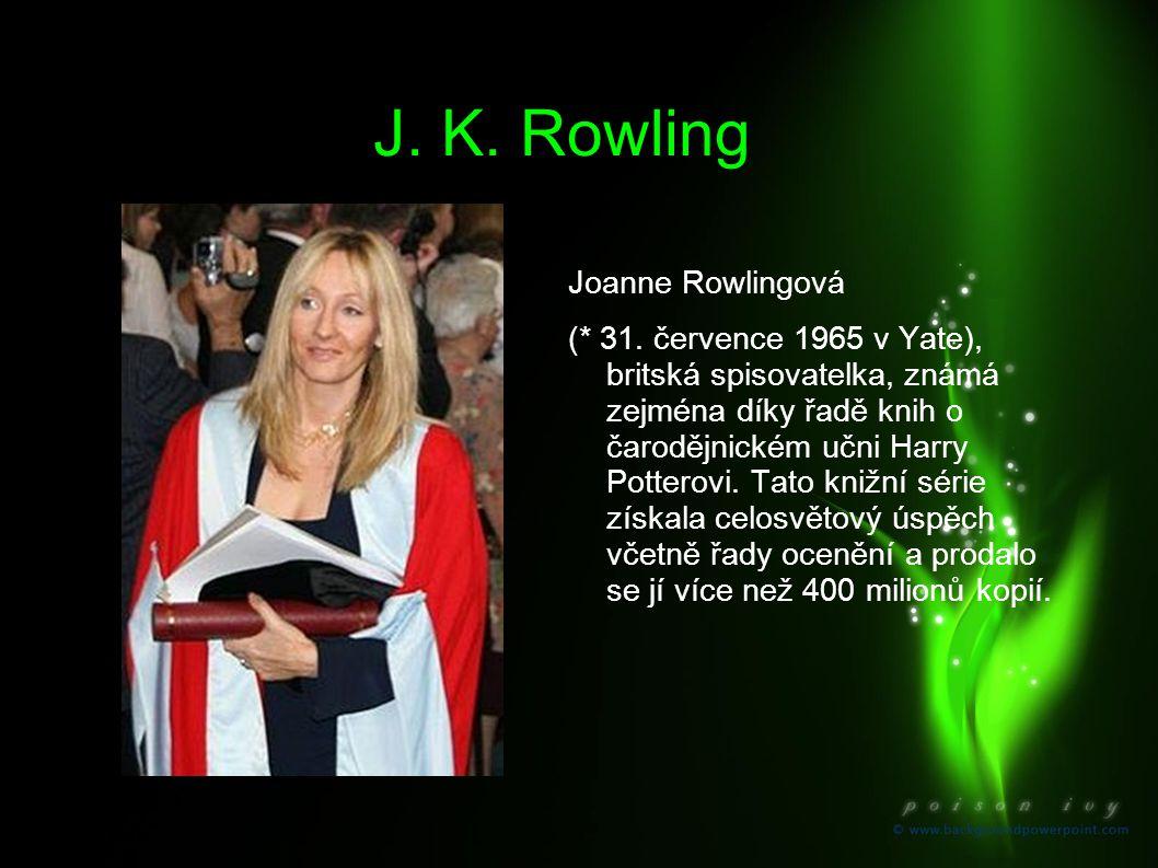 J. K. Rowling Joanne Rowlingová