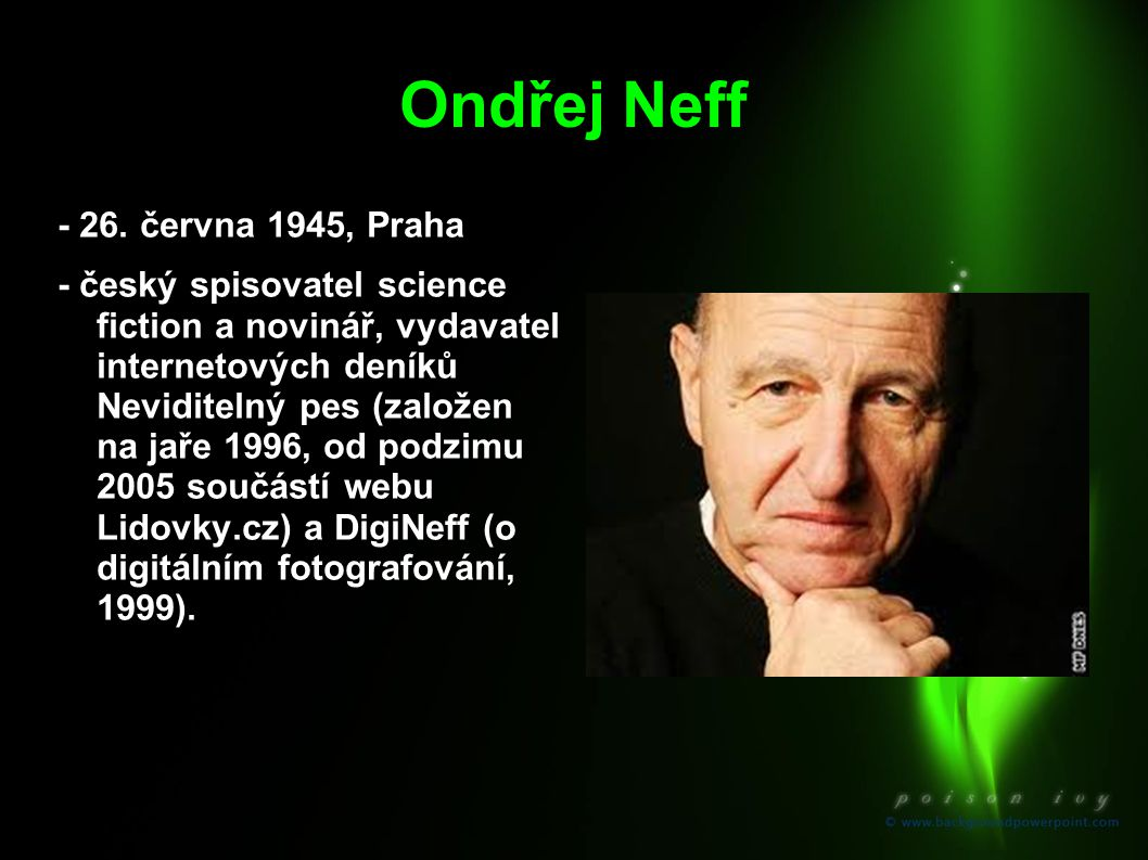 Ondřej Neff - 26. června 1945, Praha