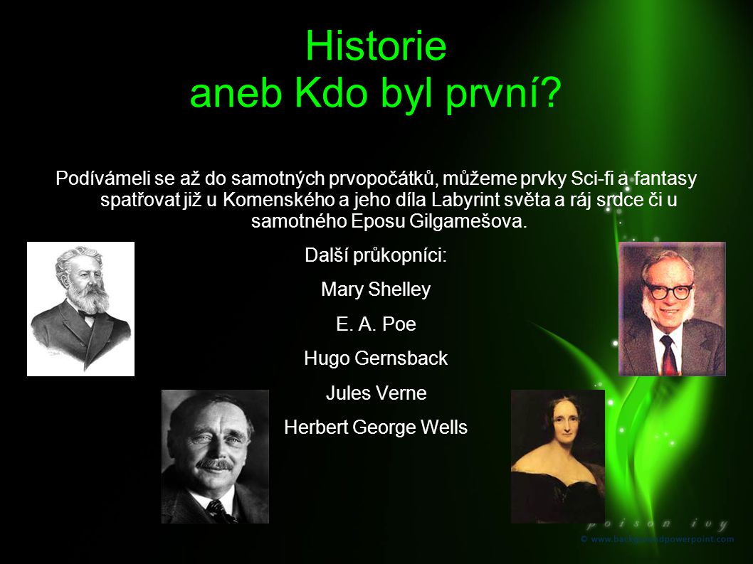 Historie aneb Kdo byl první
