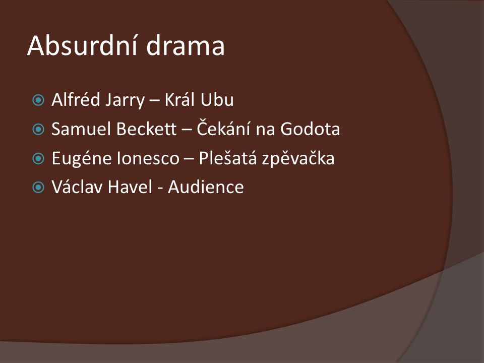 Absurdní drama Alfréd Jarry – Král Ubu