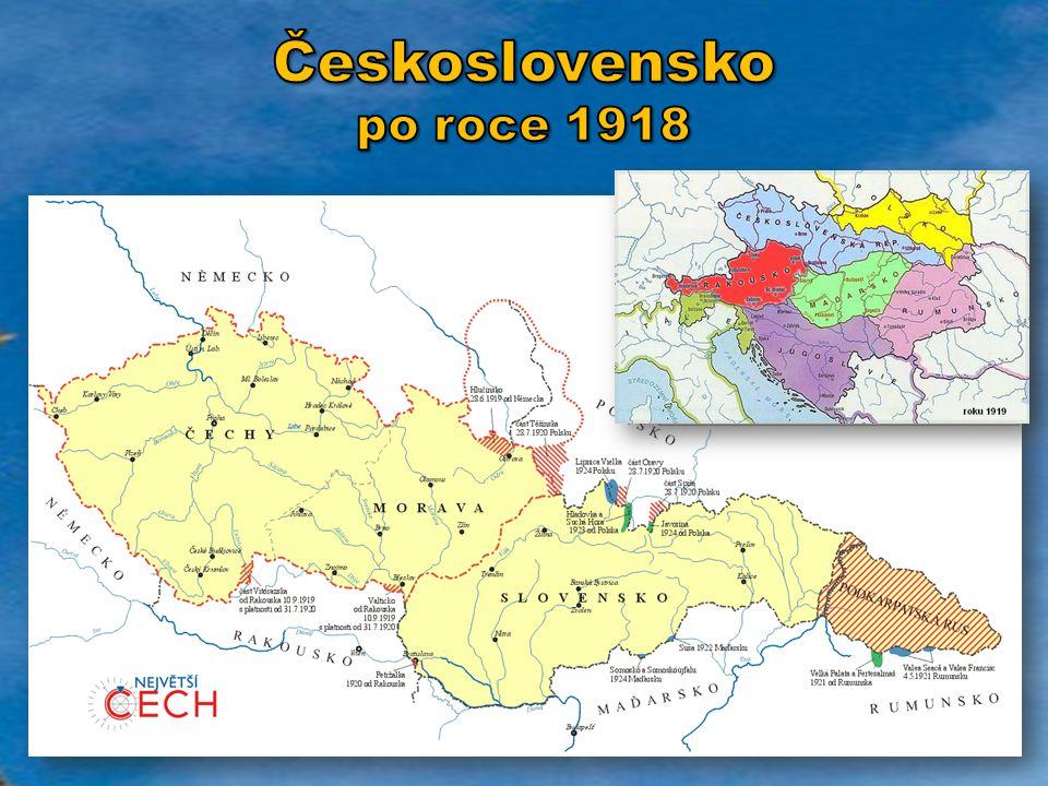 Československo po roce 1918