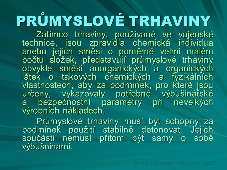 PRŮMYSLOVÉ TRHAVINY