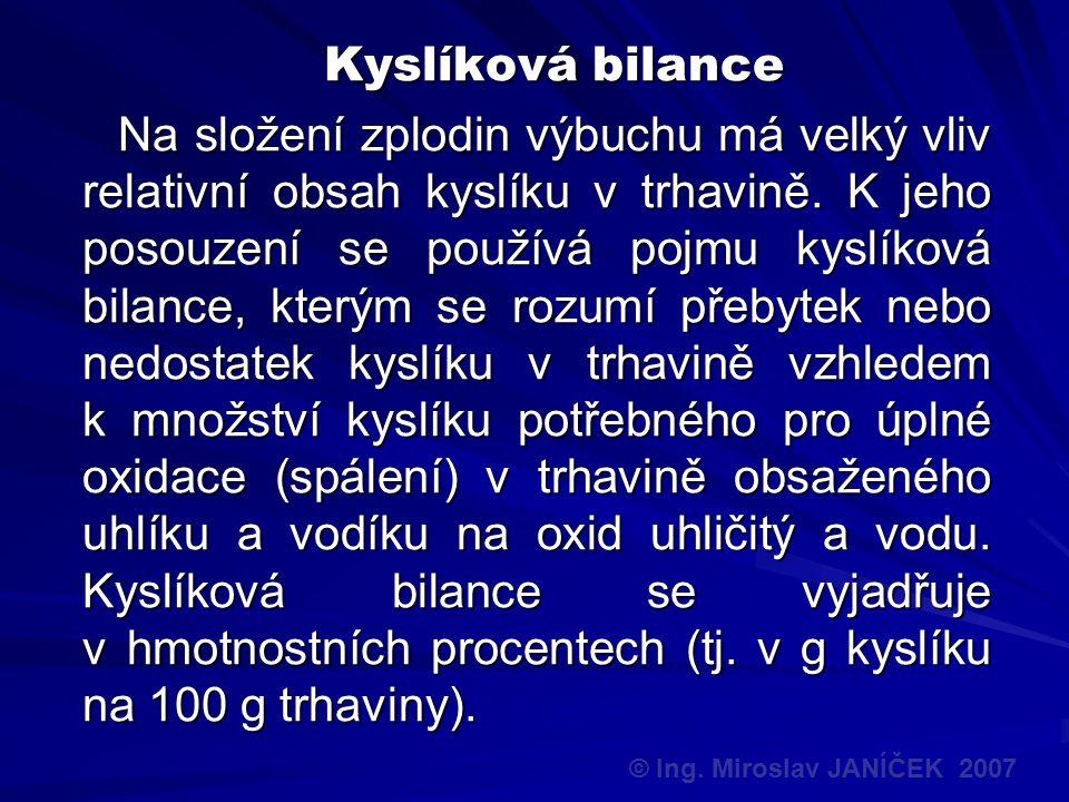 Kyslíková bilance