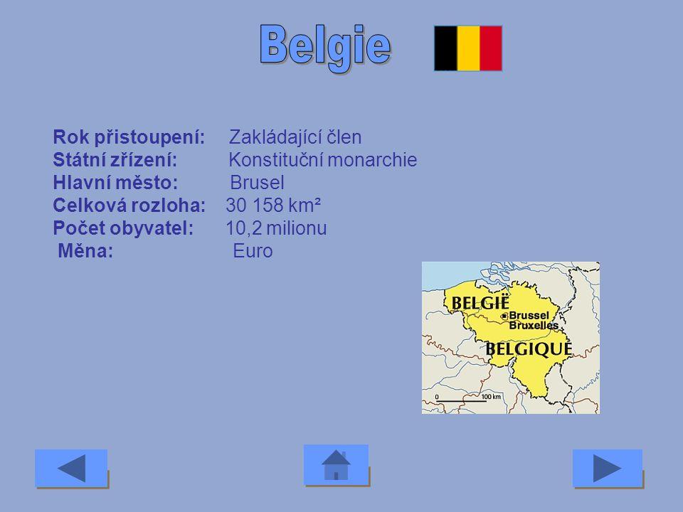 Belgie Rok přistoupení: Zakládající člen