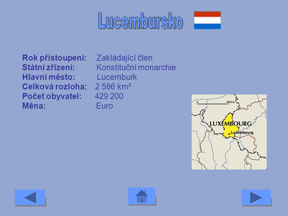Lucembursko Rok přistoupení: Zakládající člen