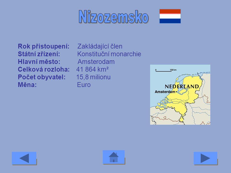 Nizozemsko Rok přistoupení: Zakládající člen