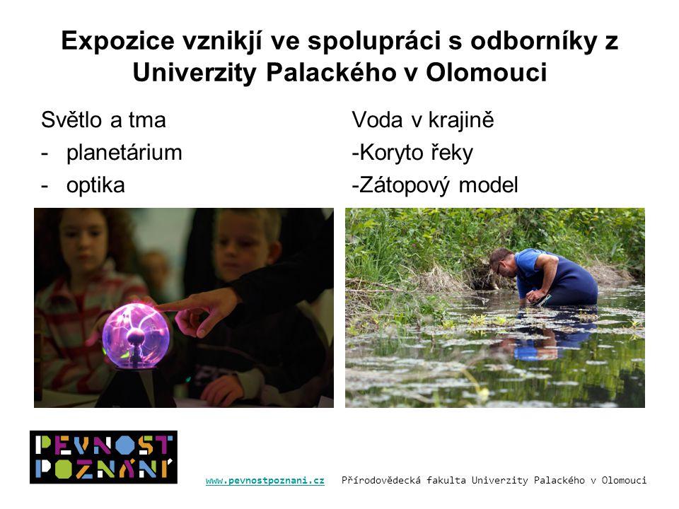 Expozice vznikjí ve spolupráci s odborníky z Univerzity Palackého v Olomouci