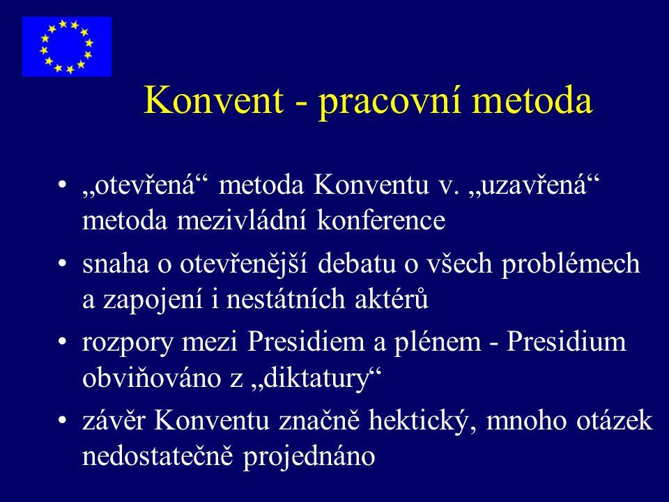 Konvent - pracovní metoda