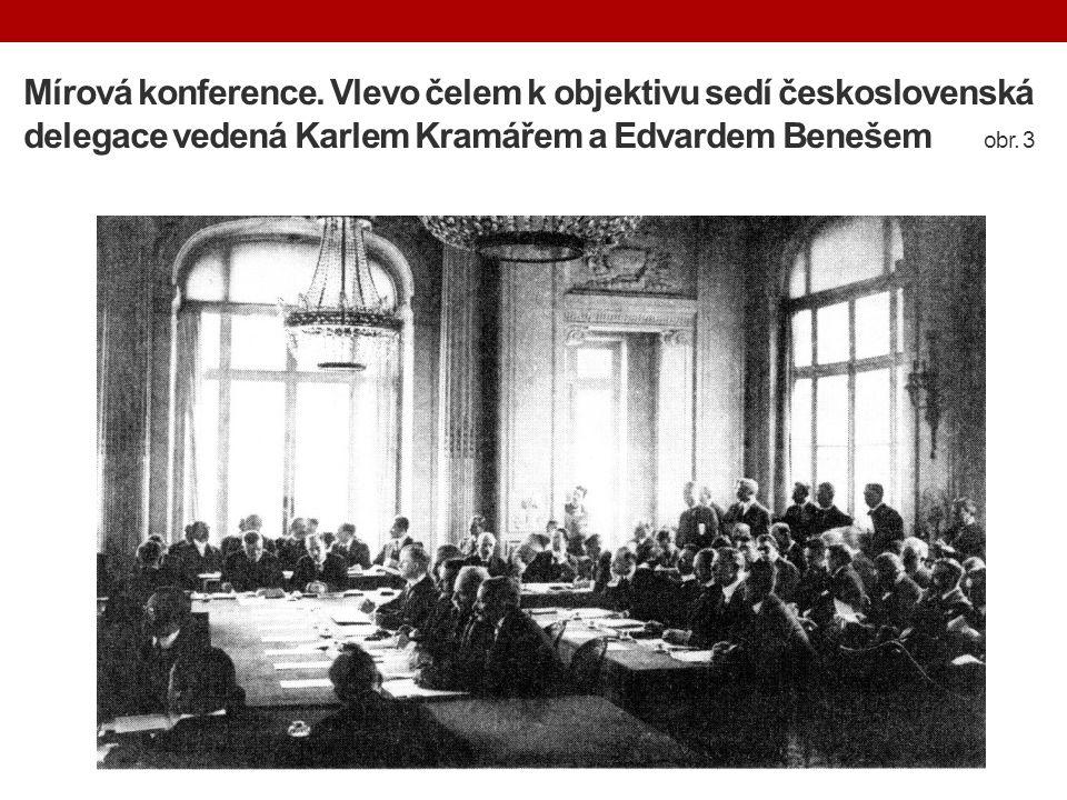 Mírová konference.