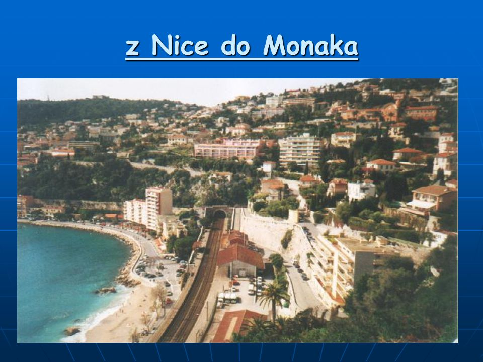 z Nice do Monaka