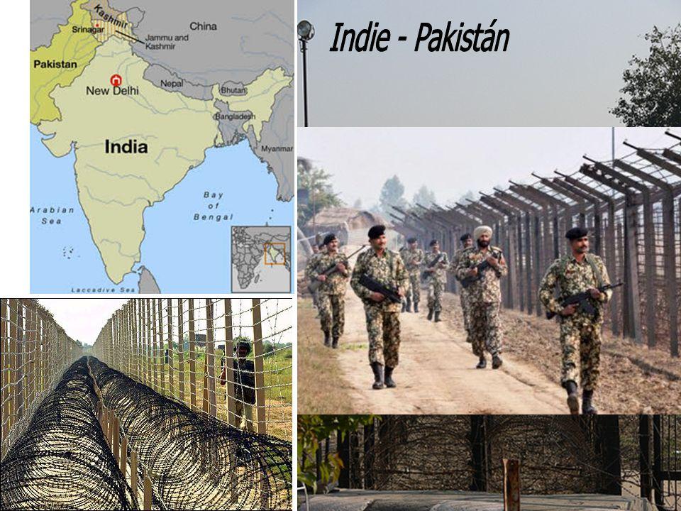 Indie - Pakistán