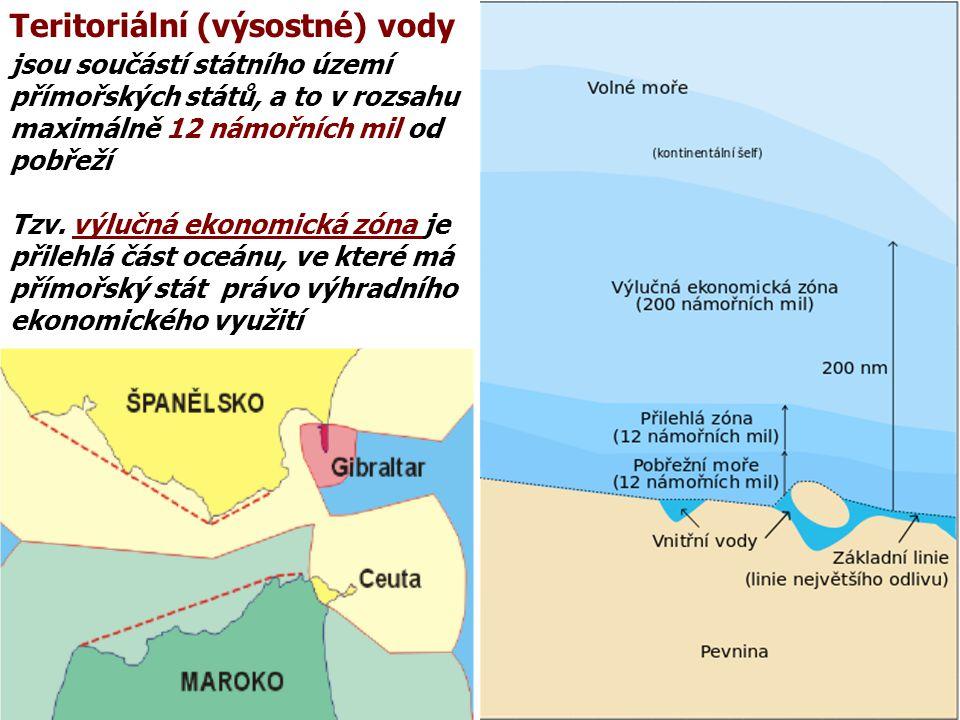 Teritoriální (výsostné) vody