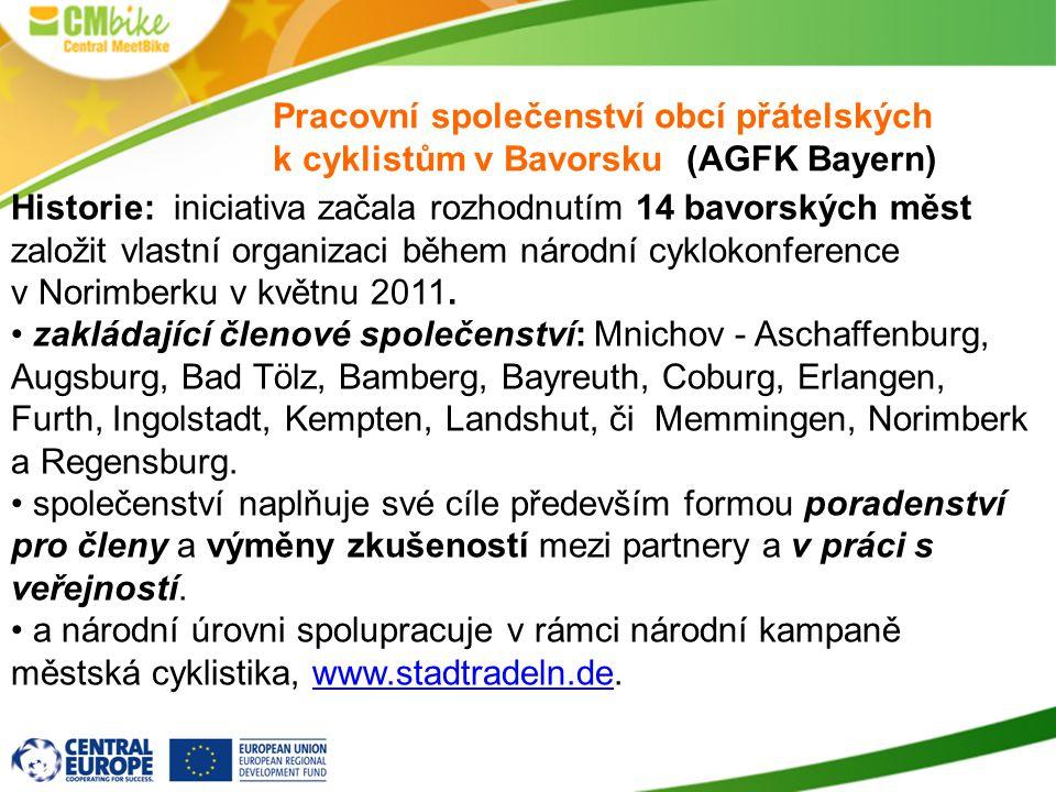 Pracovní společenství obcí přátelských k cyklistům v Bavorsku (AGFK Bayern)