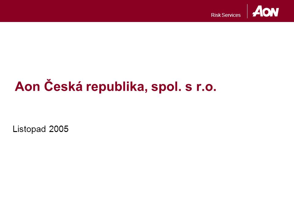 Aon Česká republika, spol. s r.o.