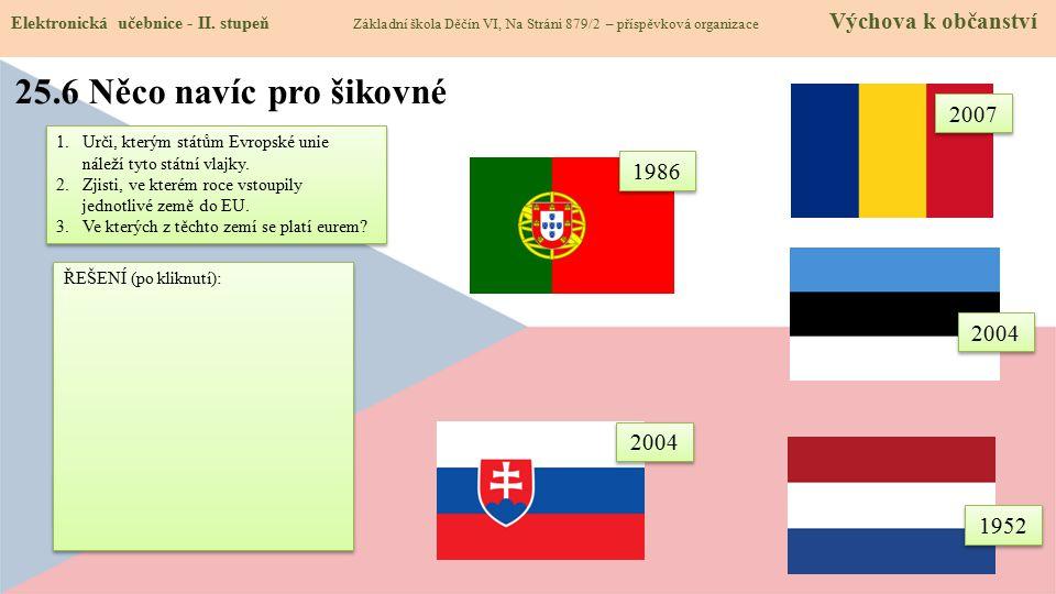 Členem eurozóny jsou všechny tyto státy kromě Rumunska.