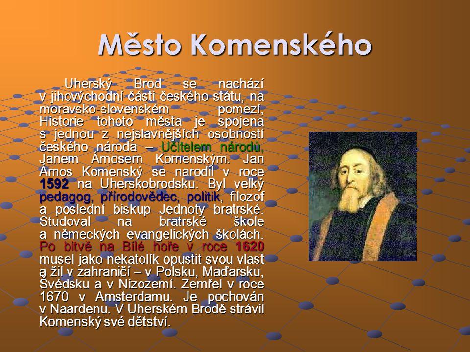 Město Komenského