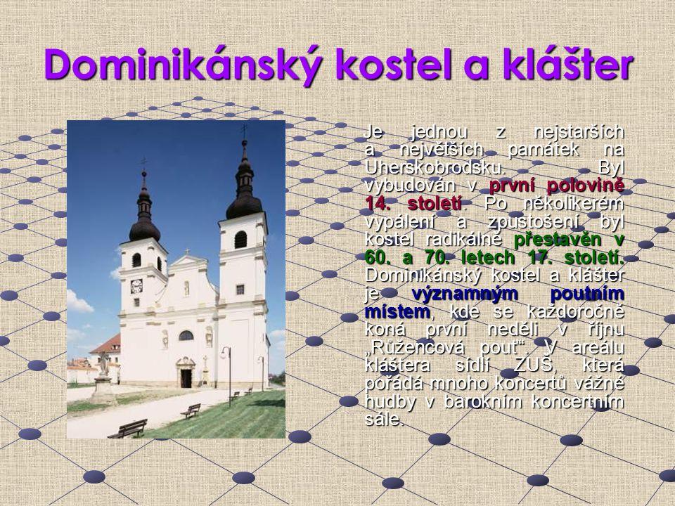 Dominikánský kostel a klášter