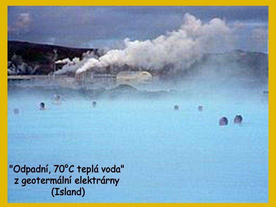 z geotermální elektrárny