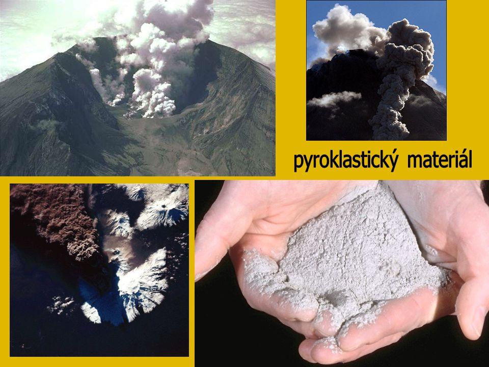 pyroklastický materiál