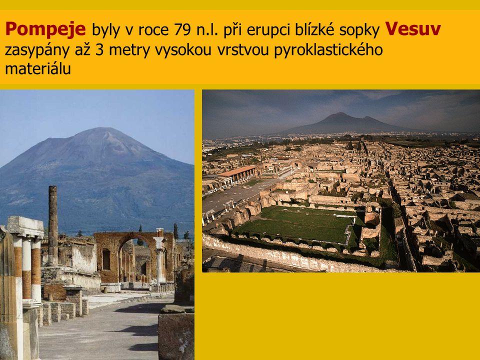 Pompeje byly v roce 79 n.l.