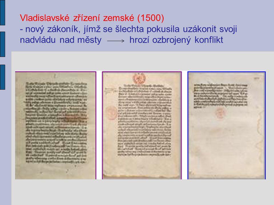 Vladislavské zřízení zemské (1500)