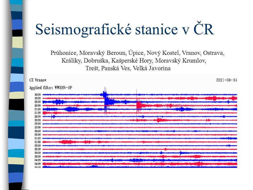 Seismografické stanice v ČR