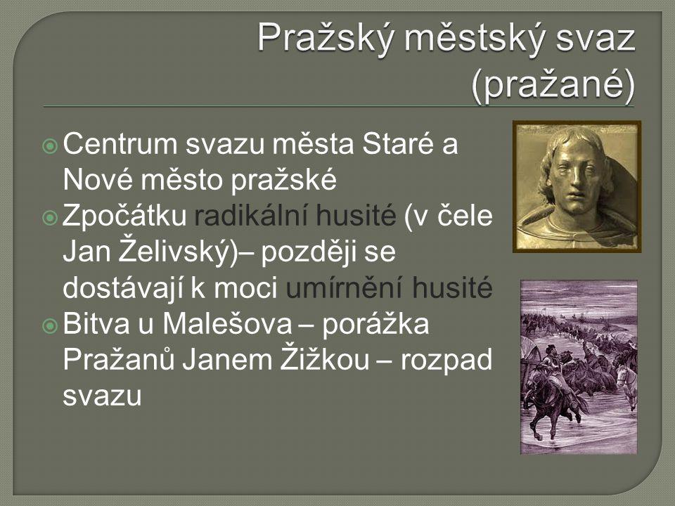 Pražský městský svaz (pražané)