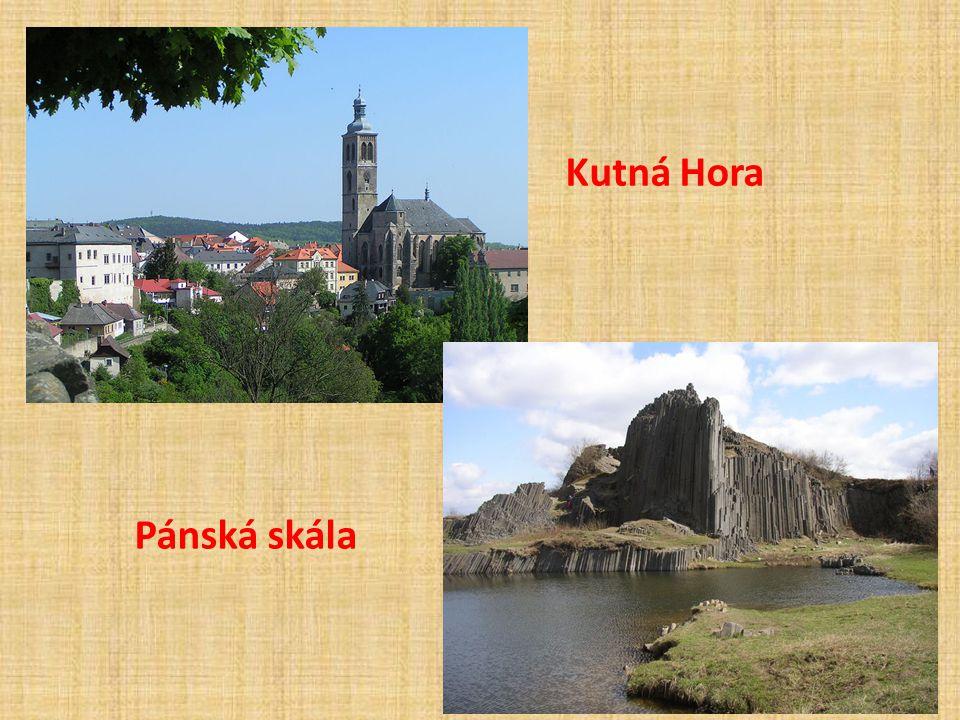 Kutná Hora Pánská skála