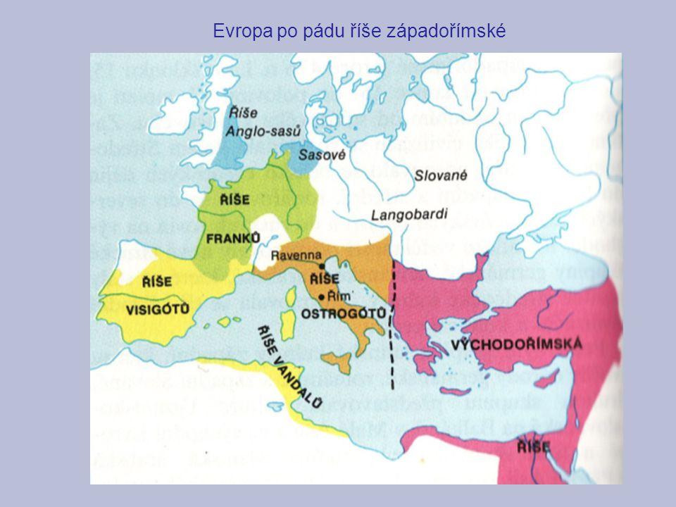 Evropa po pádu říše západořímské