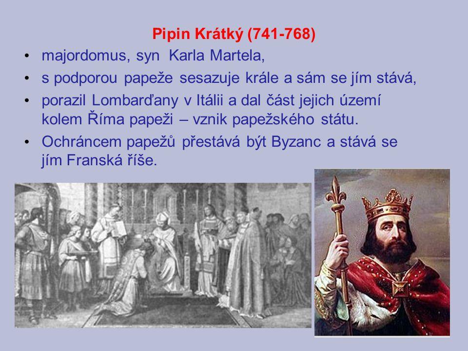 majordomus, syn Karla Martela,