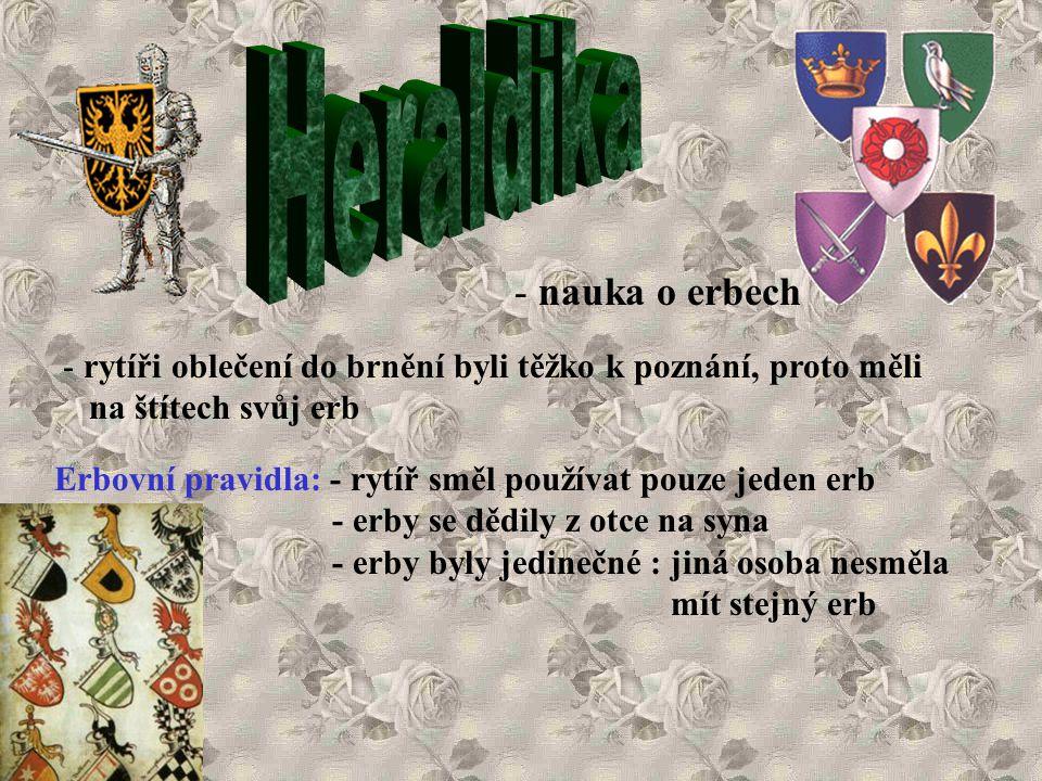 Heraldika - nauka o erbech