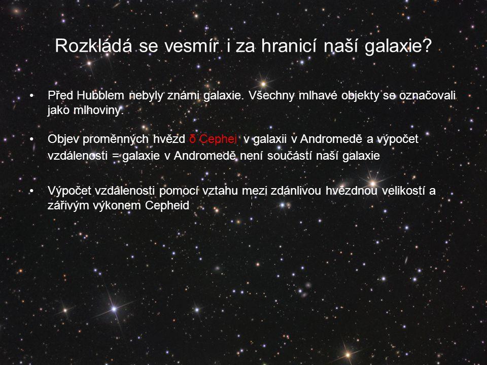 Rozkládá se vesmír i za hranicí naší galaxie