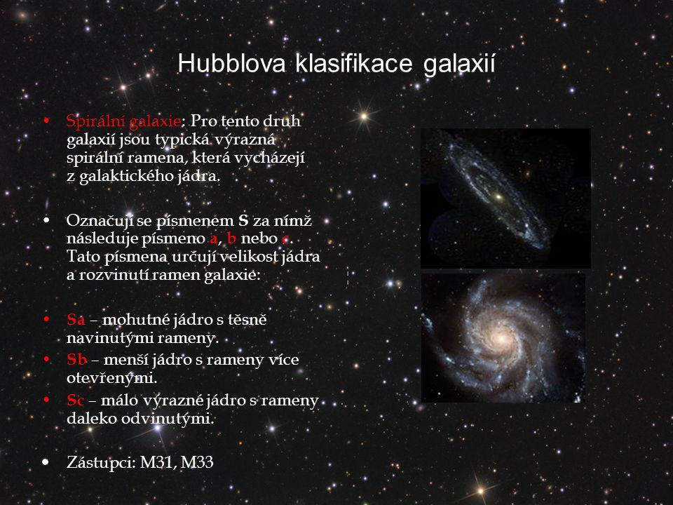 Hubblova klasifikace galaxií