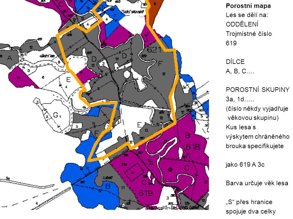 Důvody praktické – systém správy lesa Lesní hospodářský plán