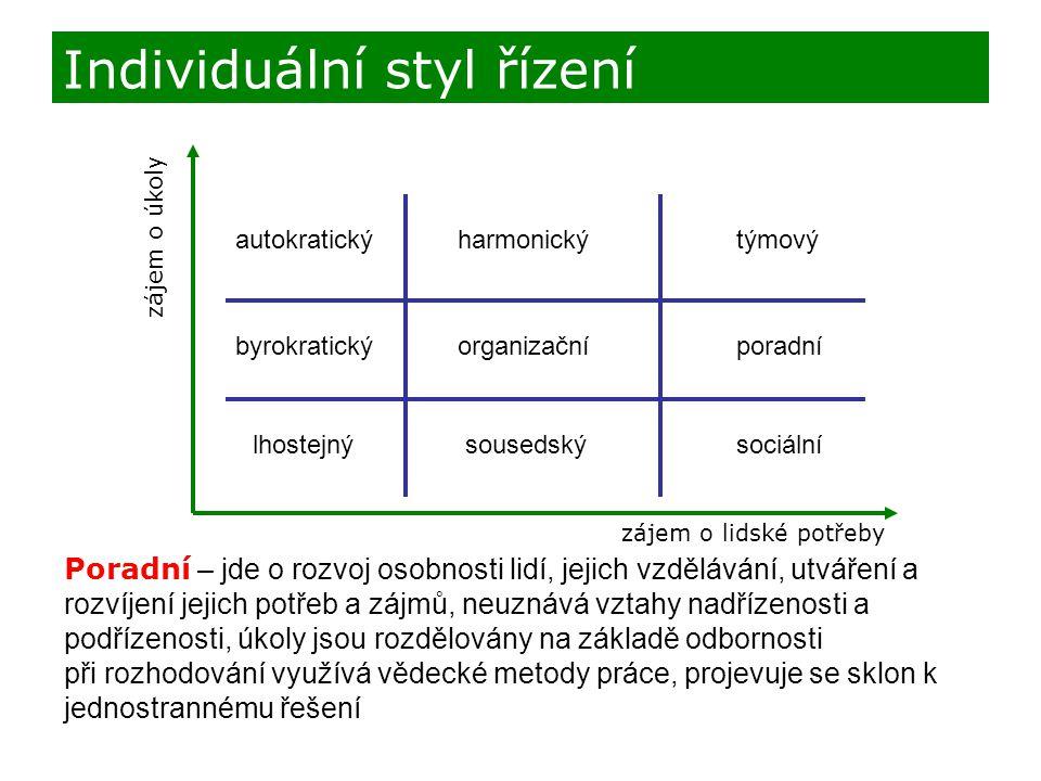 Individuální styl řízení