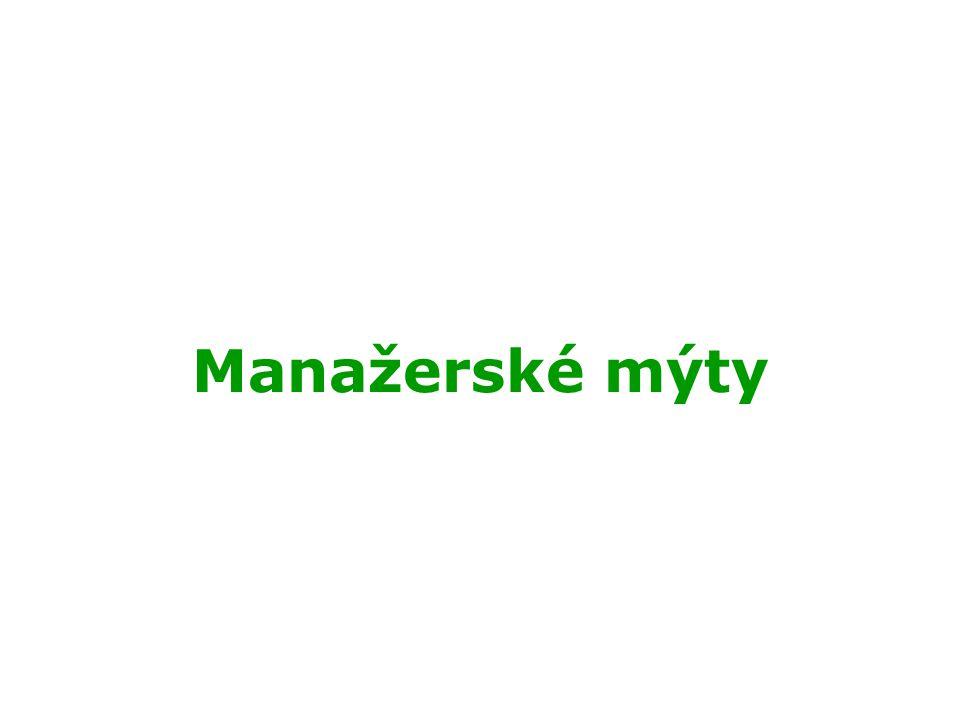 Manažerské mýty