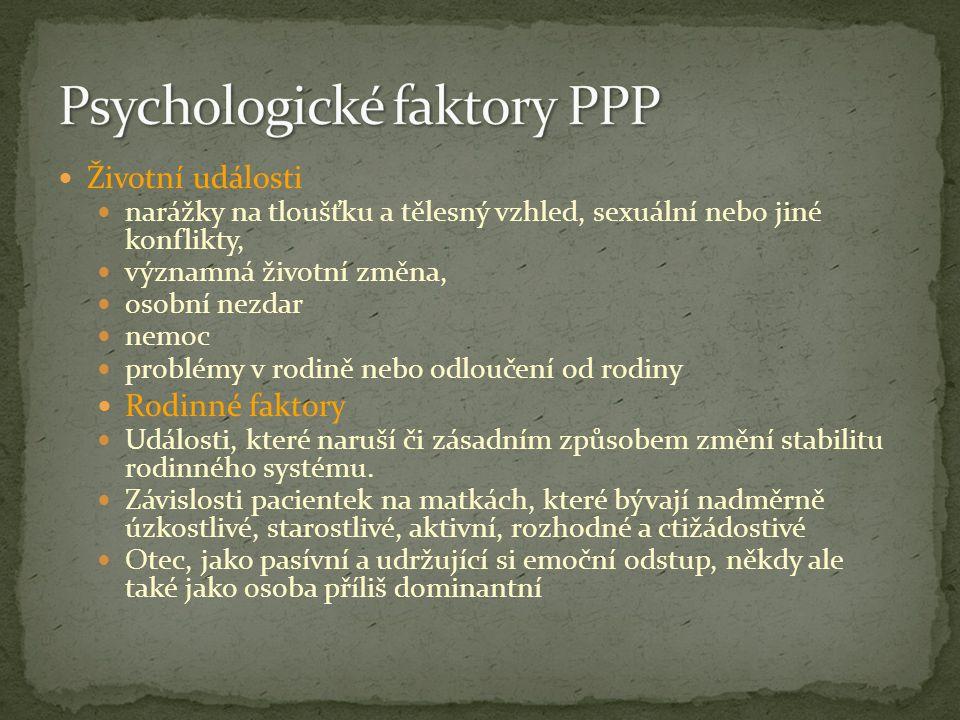 Psychologické faktory PPP