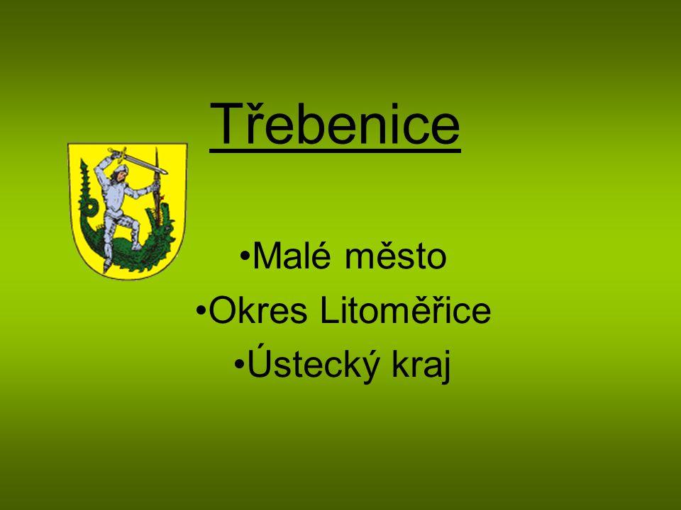 Malé město Okres Litoměřice Ústecký kraj