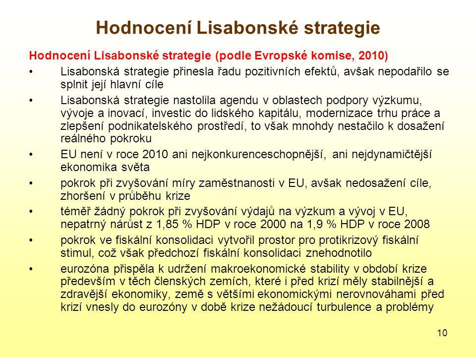 Hodnocení Lisabonské strategie