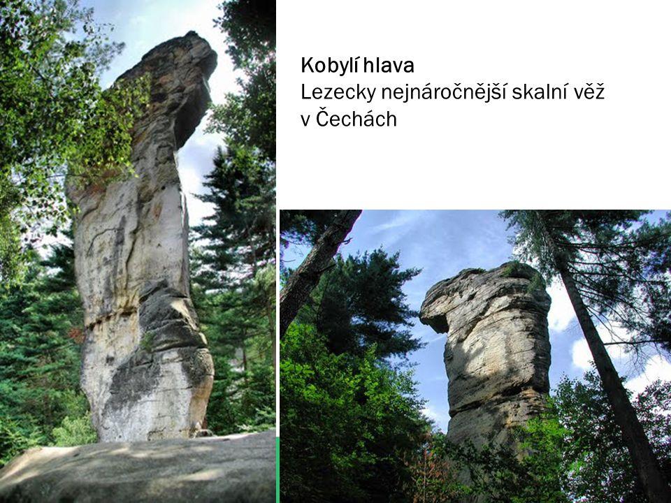 Kobylí hlava Lezecky nejnáročnější skalní věž v Čechách