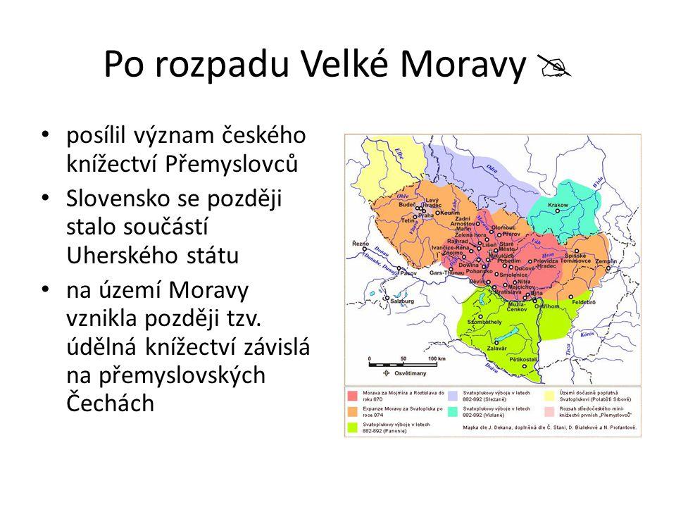 Po rozpadu Velké Moravy 