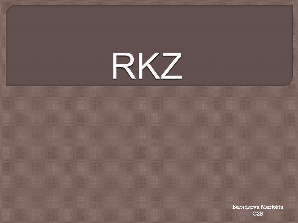 RKZ Babičková Markéta C2B