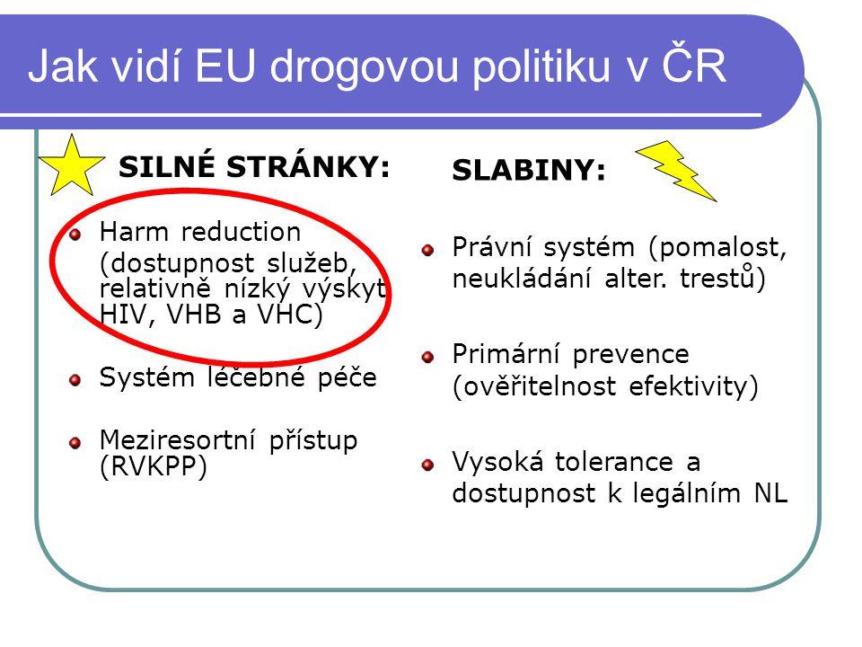 Jak vidí EU drogovou politiku v ČR