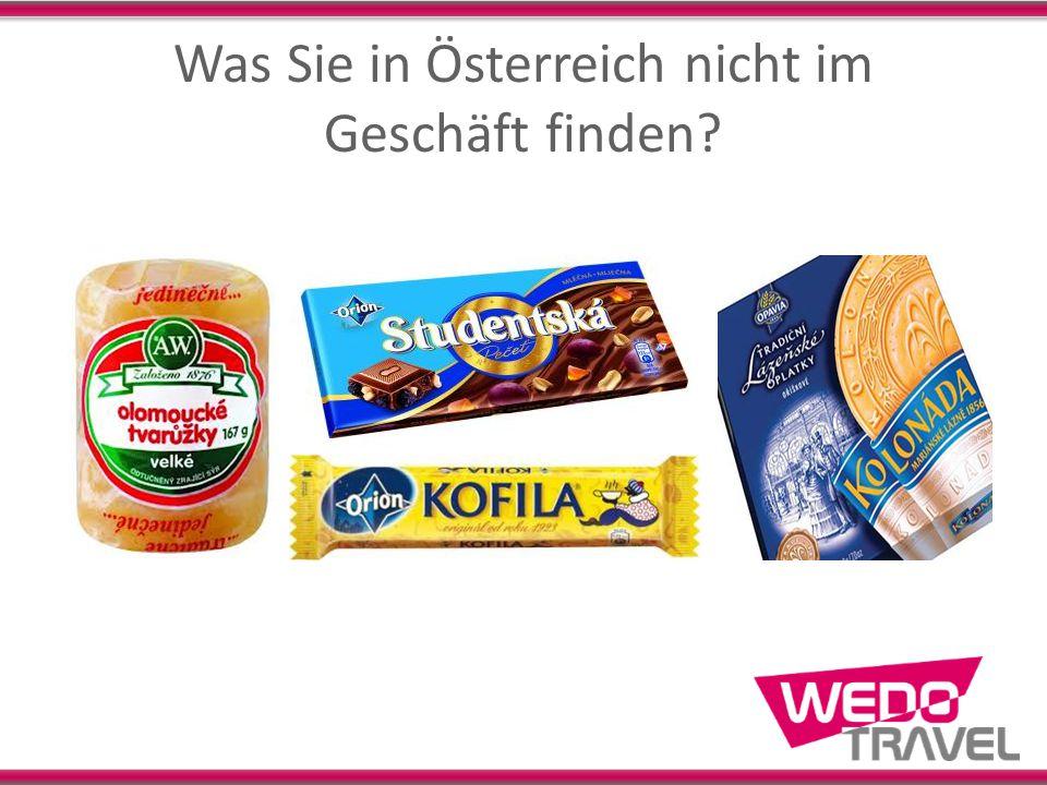 Was Sie in Österreich nicht im Geschäft finden