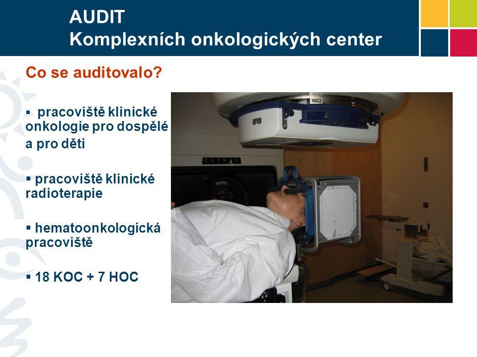 AUDIT Komplexních onkologických center