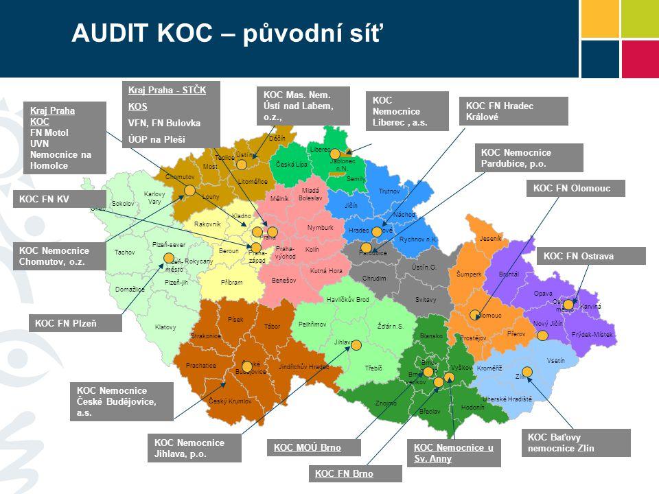 AUDIT KOC – původní síť Kraj Praha - STČK KOS VFN, FN Bulovka